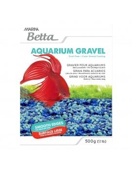 AREIA DECORATIVA P/BETTA AZUL 500 gr