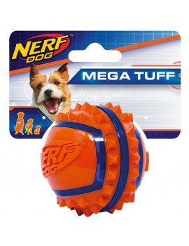 NERF TWO-TONE TPR SPIKE BALL, S