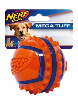 NERF TWO-TONE TPR SPIKE BALL, L