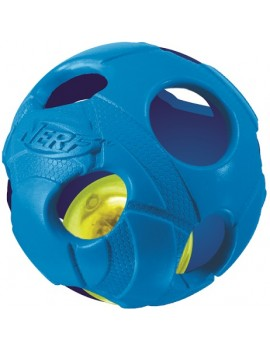 NERF LED BASH BALL, S  VERDE/AZUL