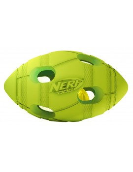NERF LED BASH FOOTBALL, S  VERDE/LARANJA