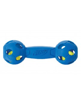 NERF LED BASH BARBELL, M  AZUL/VERM.