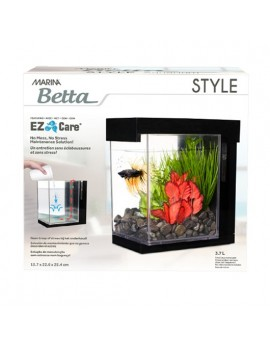 "AQUARIO KIT P/BETTAS 3.7 Lt. ""EZ CARE"" STYLE"