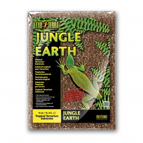 "SUBSTRATO ""JUNGLE EARTH"" 4,4 LT"