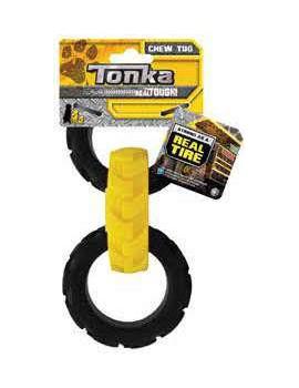 TONKA FLEX TREAD 3-PNEUS 19CM
