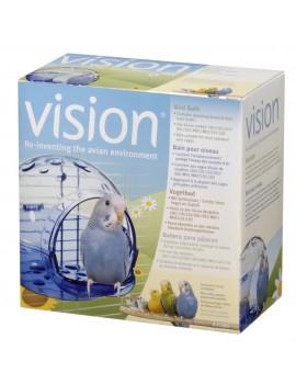 BANHEIRA VISION P/PÁSSAROS | ACESSÓRIOS VISION - 15 X 15 X 11,5 CM