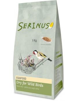 EGGFOOD DRY FOR WILD BIRDS SERINUS | PASTA DE CRIA SECA P/PÁSSAROS SILVESTRES - 1KG