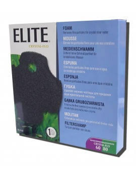 ESPONJA P/ELITE CRISTAL-FLO 60/80, 1UN