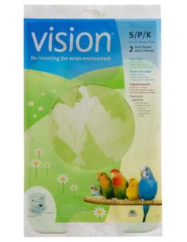PAPEL P/ GAIOLA S VISION 2UNID. 43X33CM
