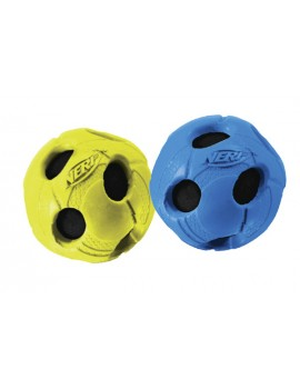 NERF WR. BASH TENNIS BALL, S VERM./AZUL