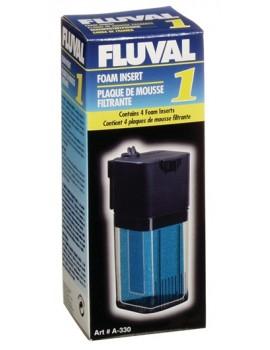 ESPONJA FLUVAL 1 C/4 UNID.