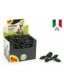 Snack Vegetal Escova verde 7cm. 300UN