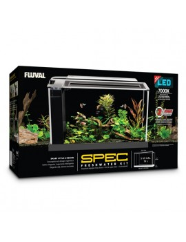 AQUARIO KIT Fl. SPEC 21,1L PRETO