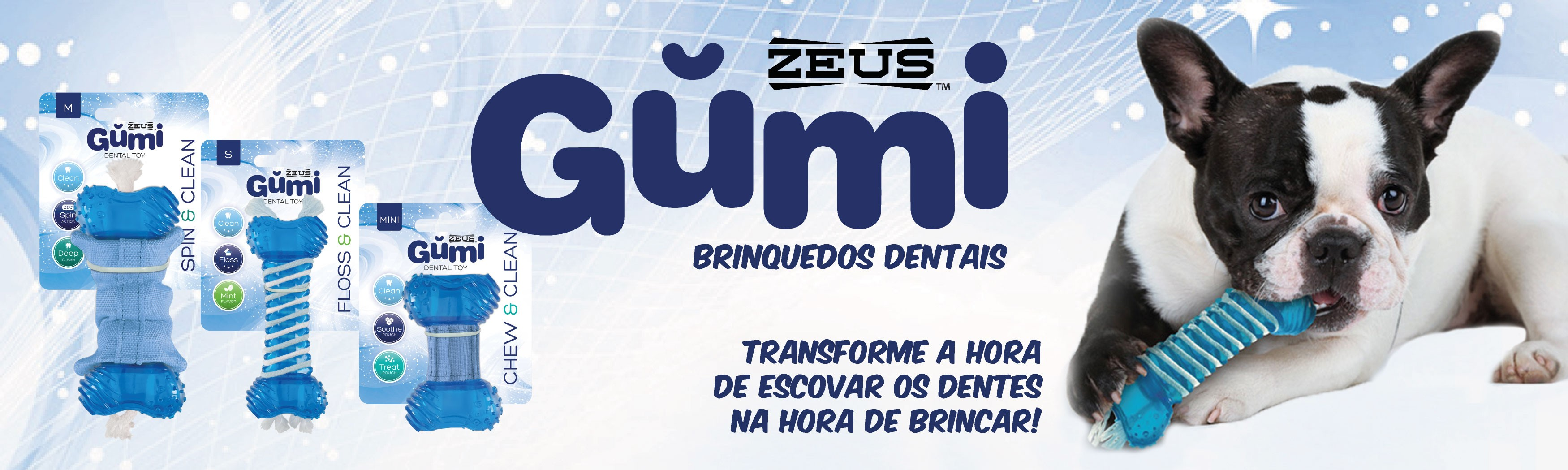 GUMI - BRINQUEDOS DENTAIS
